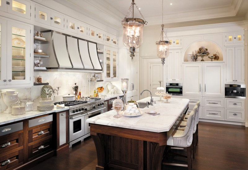 Downsview Kitchens for Traditional Kitchen with Elegant Kitchen