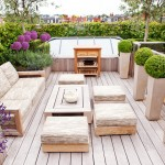 Dox Furniture for Contemporary Deck with Wood Outdoor Coffee Table