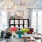 Dox Furniture for Eclectic Home Office with Bright Colors