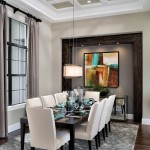 Dr Horton Tampa for Transitional Dining Room with Chandeliers