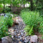 Drainage Ditch for Contemporary Landscape with Asian