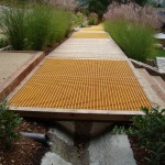Drainage Ditch for Contemporary Landscape with Contemporary