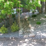 Drainage Ditch for Traditional Landscape with Berm