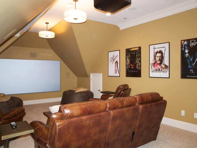 Dreamcatcher Theater for Traditional Home Theater with Movie Room