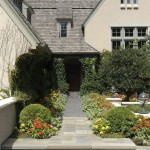 Dryvit for Traditional Exterior with Stone Pathway