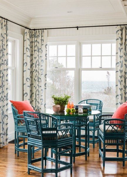 Duralee for Victorian Dining Room with Colorful
