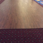 Durkan Carpet for Transitional Spaces with Fusion Lvt