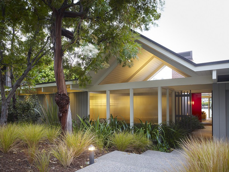 Eichler Homes for Midcentury Exterior with Midcentury