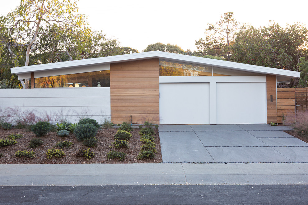 Eichler House for Midcentury Exterior with Eichler