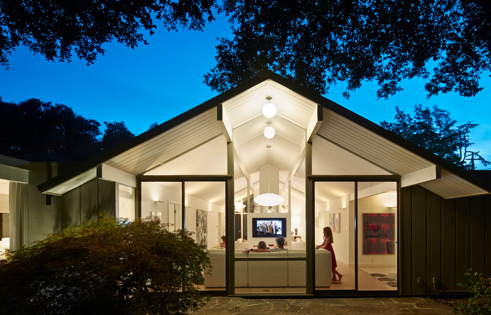 Eichler House for Midcentury Exterior with Indoor Outdoor Living