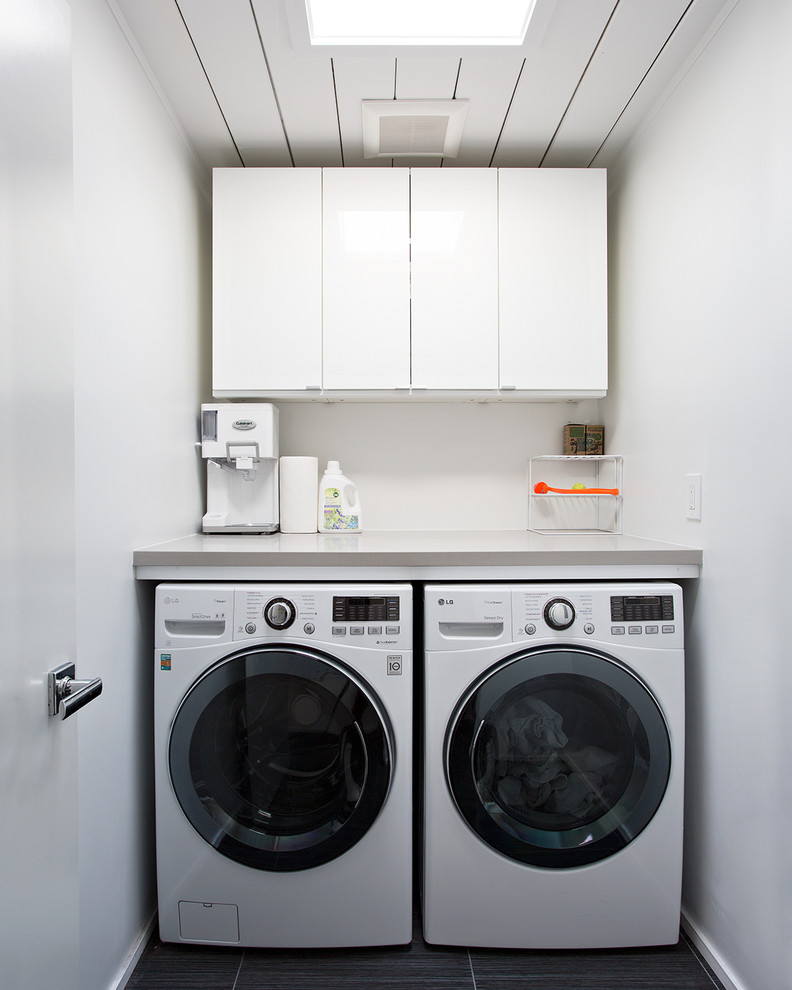 Eichler House for Midcentury Laundry Room with Single Family Home