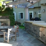 El Dorado Hills Theater for Traditional Patio with Outdoor Lighting