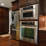 El Dorado Hills Theater for Transitional Kitchen with Contrasting Cabinets