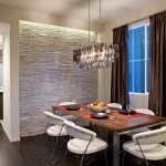 Elan Lighting for Contemporary Dining Room with Place Settings
