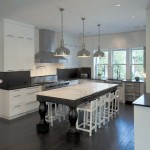 Elco Lighting for Contemporary Kitchen with Drawer Pulls