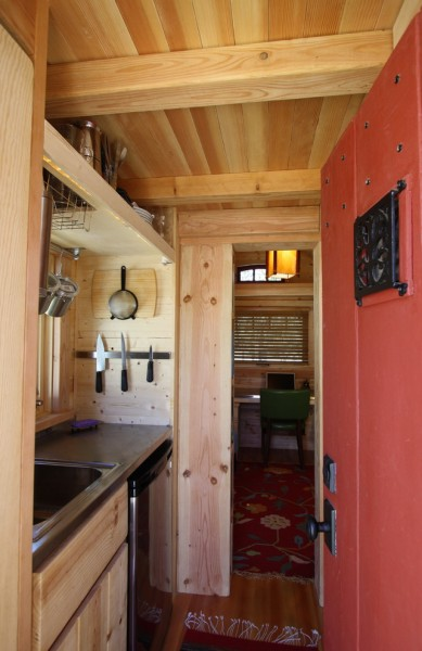 Electric Company Cast for Rustic Kitchen with Mini Refrigerator