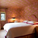 Ellsworth Ford for Traditional Bedroom with Wallpaper