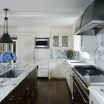 Ellsworth Ford for Traditional Kitchen with Black Pendant Light