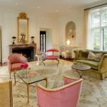 Ellsworth Ford for Traditional Living Room with French Doors