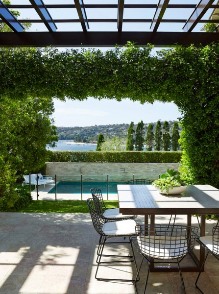 Embellishing for Contemporary Patio with Outdoor Furniture