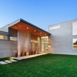 Embellishing for Modern Exterior with Entry