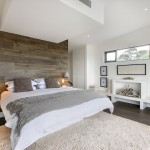 Engineered Hardwood vs Laminate for Contemporary Bedroom with Pendant Lights
