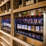 Enomatic for Contemporary Spaces with Wine Cellar