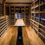 Enomatic for Modern Wine Cellar with Kitchen
