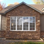 Environmental Stoneworks for Traditional Exterior with James Hardie Siding