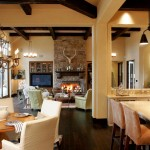 Eplans for Traditional Dining Room with Exposed Beams
