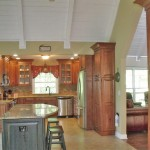 Era Sunrise Realty for Traditional Kitchen with Rustic Artisan Cherry Wellbourne Forest