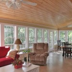 Era Sunrise Realty for Traditional Porch with Sunroom with Pine Tongue Groove Vaulte