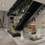Escala Seattle for Contemporary Staircase with Custom Railing