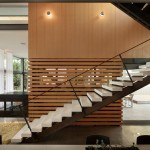 Escala Seattle for Modern Staircase with Glass Stair Railing