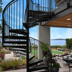 Escala Seattle for Transitional Patio with Outdoor Staircase