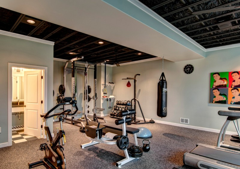Everglades Farm Equipment for Traditional Home Gym with Gym Equipment