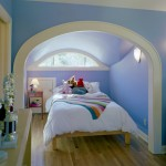 Eyebrow Arch for Traditional Kids with Bedside Table