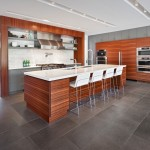Faircrest Cabinets for Contemporary Kitchen with Wood Cabinets