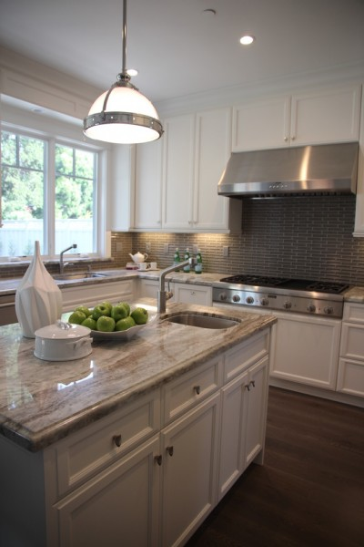 Fantasy Brown Granite for Transitional Kitchen with Kitchen