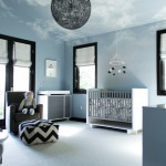 Farrow and Ball Nyc for Contemporary Nursery with Glass Door