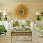 Farrow and Ball Nyc for Traditional Living Room with Green Accents