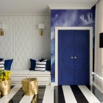 Feather River Doors for Contemporary Entry with Cobalt