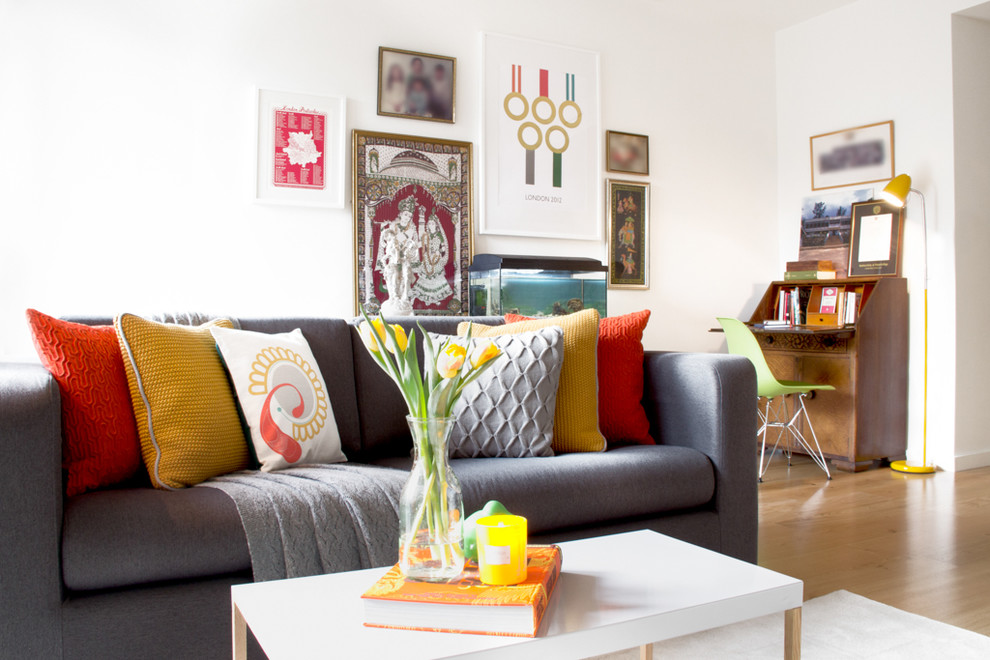 Fenwick Apartments for Contemporary Living Room with Living Room