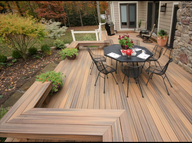 Fiberon for Modern Deck with Fiberon Decking