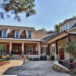 Firestone Raleigh Nc for Traditional Exterior with Metal Roof