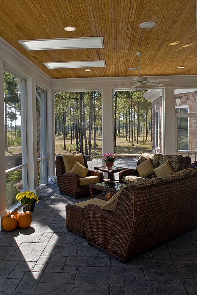 Firestone Raleigh Nc for Traditional Porch with Outdoor Cushions
