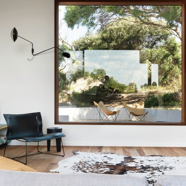 Fitzpatrick Furniture for Contemporary Living Room with Cowhide Rug
