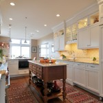 Fitzpatrick Furniture for Transitional Kitchen with White Kitchen
