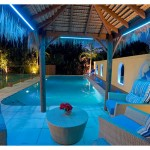Flexfire Led for Contemporary Pool with Pool Lighting