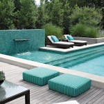 Florida Etr for Contemporary Pool with Planters